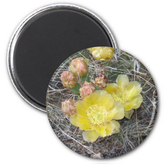 Blooming 6 Cm Round Magnet