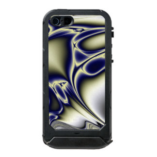 Blooming Blue Fractal Incipio ATLAS ID™ iPhone 5 Case