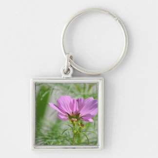 Blooming Cosmos Flowers Key Chains