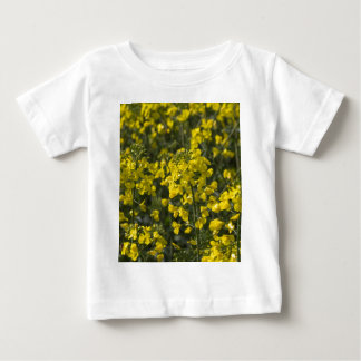 blooming field of rapeseed baby T-Shirt