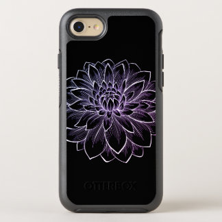 Blooming Flower Illustration OtterBox Symmetry iPhone 8/7 Case