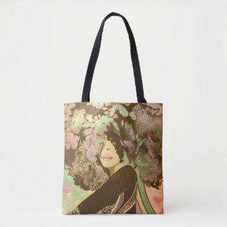 Blooming In Motion Tote Bag