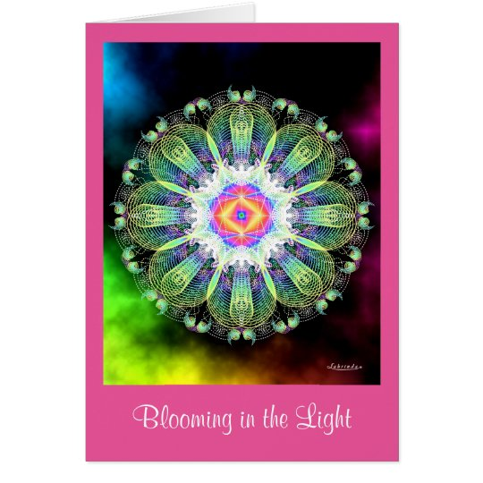 Blooming in the Light Card