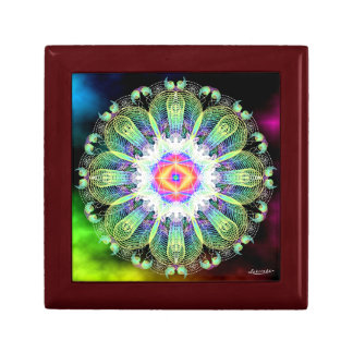 Blooming in the Light Small Square Gift Box