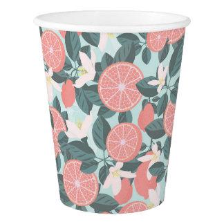 Blooming lemon! Paper Cup