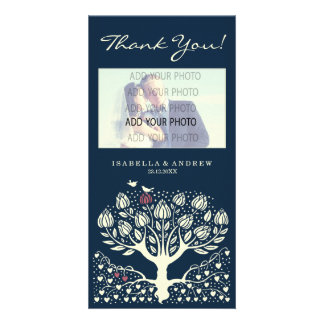 Blooming Love Tree wedding thank you ref.wi1 Photo Greeting Card