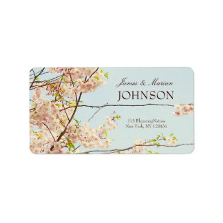 Blooming Nature Address Label
