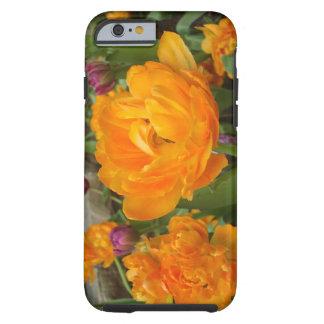 Blooming Orange & Green Tulip iPhone 6 Tough Case Tough iPhone 6 Case
