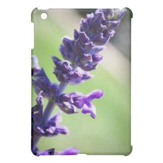 Blooming Purple Salvia iPad Mini Covers