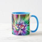 Blooming Rainbow Lotus OM Mug