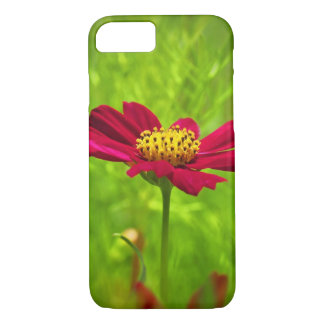 Blooming Red Cosmos Flowers iPhone 7 Case