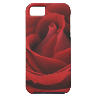Blooming Red Rose Tough iPhone 5 Case