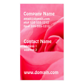 Blooming Rose Business Cards