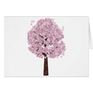 Blooming Sakura Tree Greeting Card