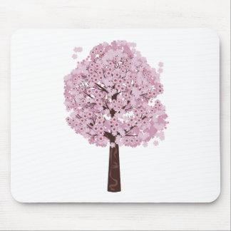 Blooming Sakura Tree Mouse Pad