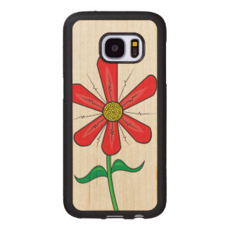 Blooming Spring Flower Wood Samsung Galaxy S7 Case