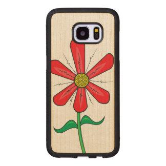 Blooming Spring Flower Wood Samsung Galaxy S7 Edge Case