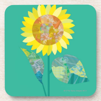 Blooming Sunflowers Coaster