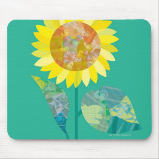 Blooming Sunflowers Mouse Mat