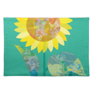 Blooming Sunflowers Placemat