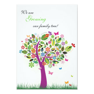 Blooming Tree Pregnancy Announcement