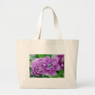 Blooming Tulips Canvas Bag