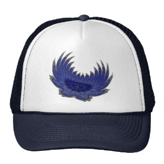 Blooming Wings blue Hat