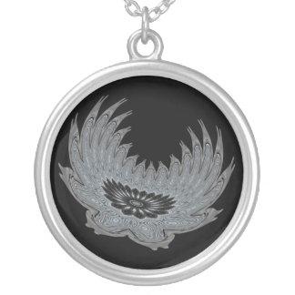 Blooming Wings metal Necklace