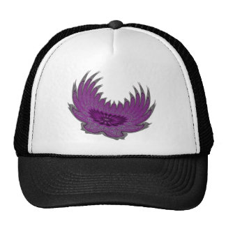 Blooming Wings purple Hats