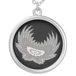 Blooming Wings silver Pendant