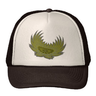 Blooming Wings yellow Trucker Hat