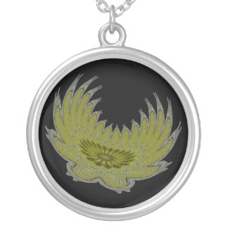 Blooming Wings yellow Necklaces