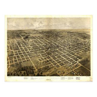 Bloomington, Illinois (1867) Postcard