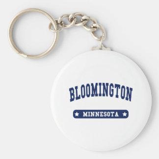 Bloomington Minnesota College Style t shirts Key Ring