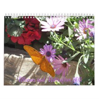 Blooms and Butterflies 2011 Calendar