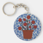 Blooms and Lace Keychain