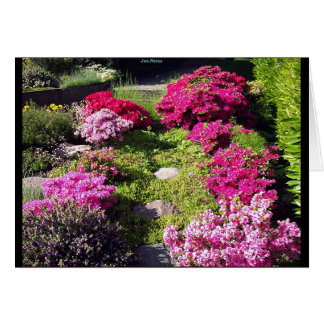 Bloomy Gardens 2 Greeting Card