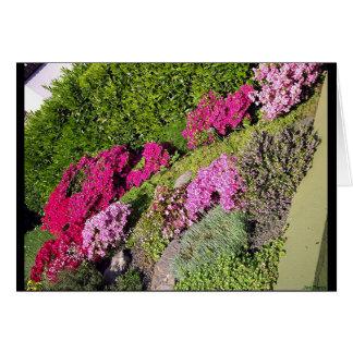 Bloomy Gardens 3 Greeting Card
