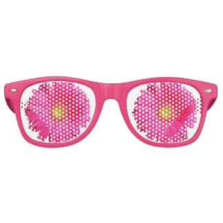 Bloomy Pink Flower - Sunglasses Party Shades