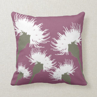 Blossom Dandelion Decor#6a Modern Throw Pillow