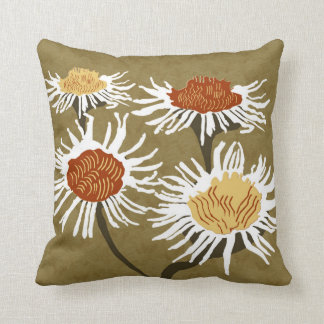 Blossom Decor#2a Modern Grade A cotton accent pil Throw Pillow