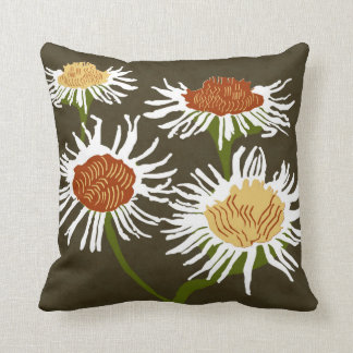 Blossom Decor#2b Modern Throw & Lumbar Pillows