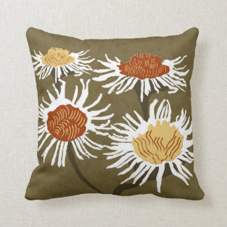 Blossom Decor#2c Modern Throw & Lumbar Pillows