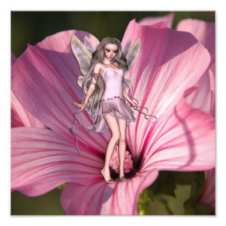Blossom Fairy Photo Print