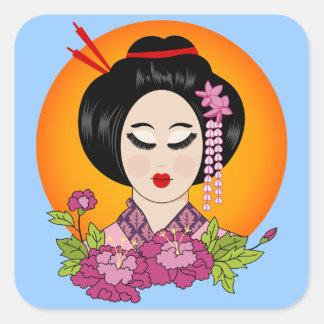 Blossom Geishal Stickers