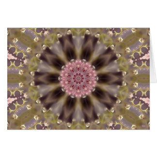 Blossom Glow Mandala II (series of five) Greeting Card