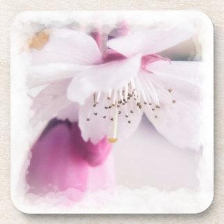 Blossom Hard Plastic Coasters