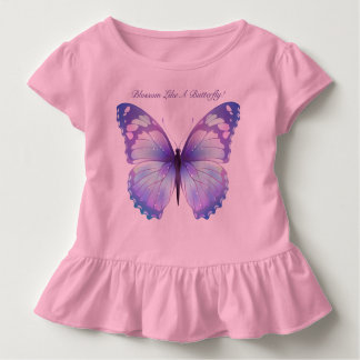 Blossom Like A Butterfly Toddler T-Shirt