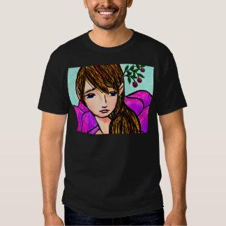 Blossom Maiden by Audre Schantz T-shirts