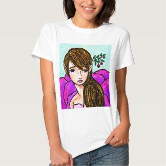 Blossom Maiden by Audre Schantz Tshirt